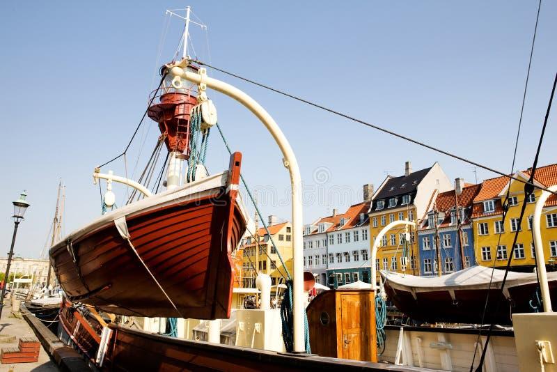 哥本哈根详细资料 免版税图库摄影