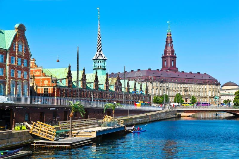 哥本哈根,丹麦 免版税图库摄影
