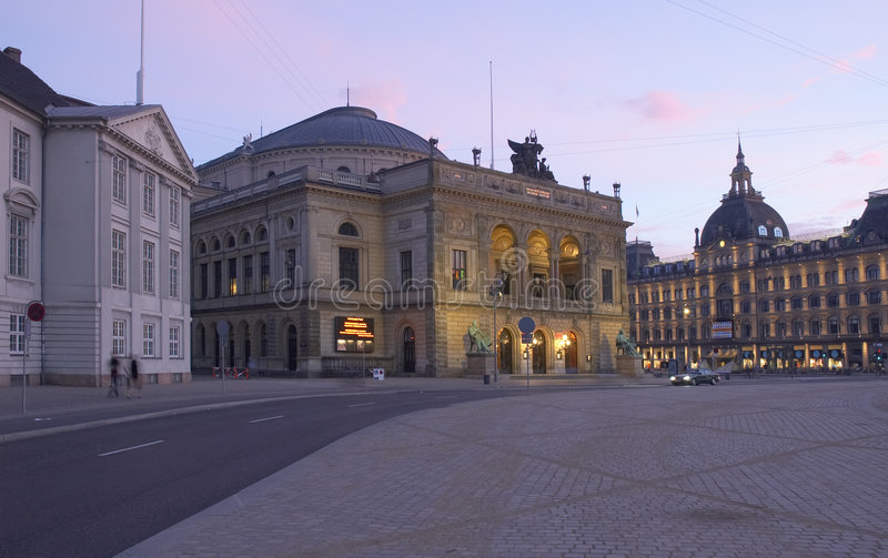 哥本哈根 免版税库存图片