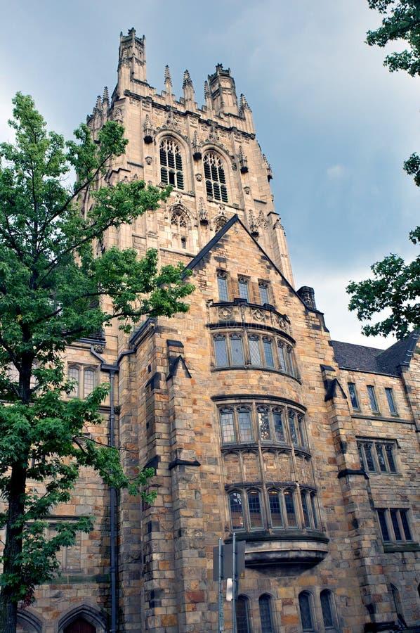 哥特式大厦的学院 免版税库存照片