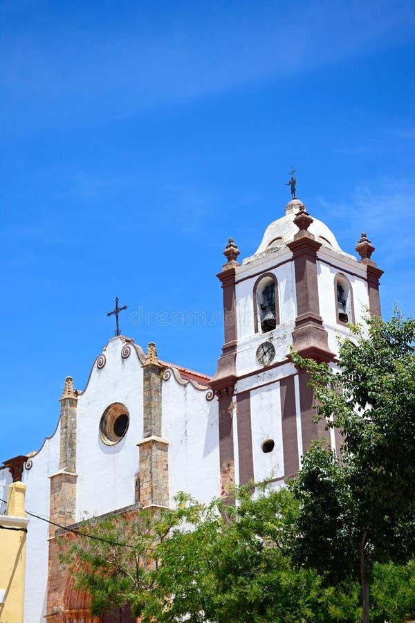 哥特式大教堂, Silves,葡萄牙 库存图片