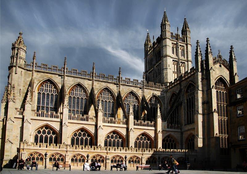 哥特式的大教堂 库存图片