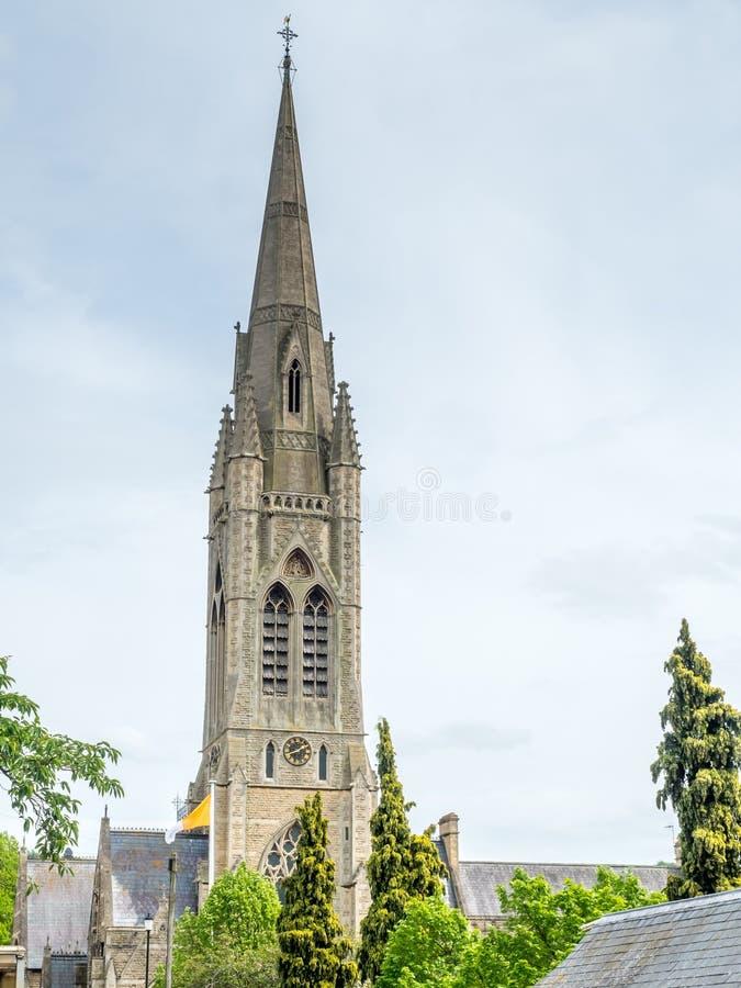 download 哥特式钟楼在巴恩 库存照片.图片