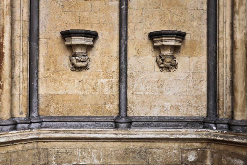 哥特式建筑 图库摄影