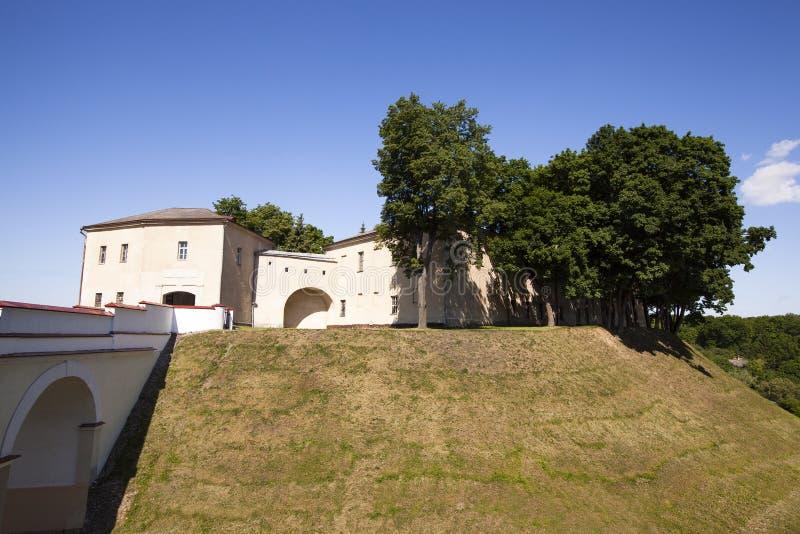哥罗德诺堡垒 免版税库存图片