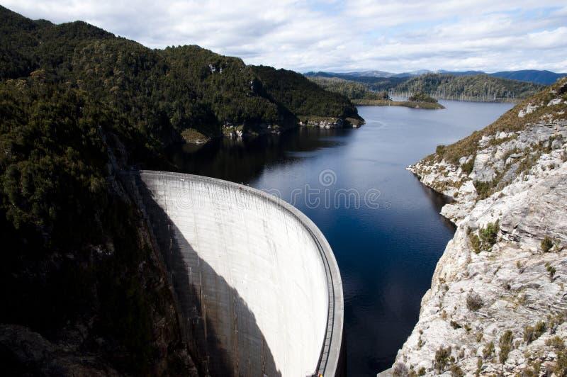 哥顿水坝-塔斯马尼亚岛 库存照片