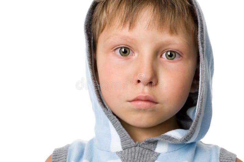 哭泣的男孩 免版税库存图片