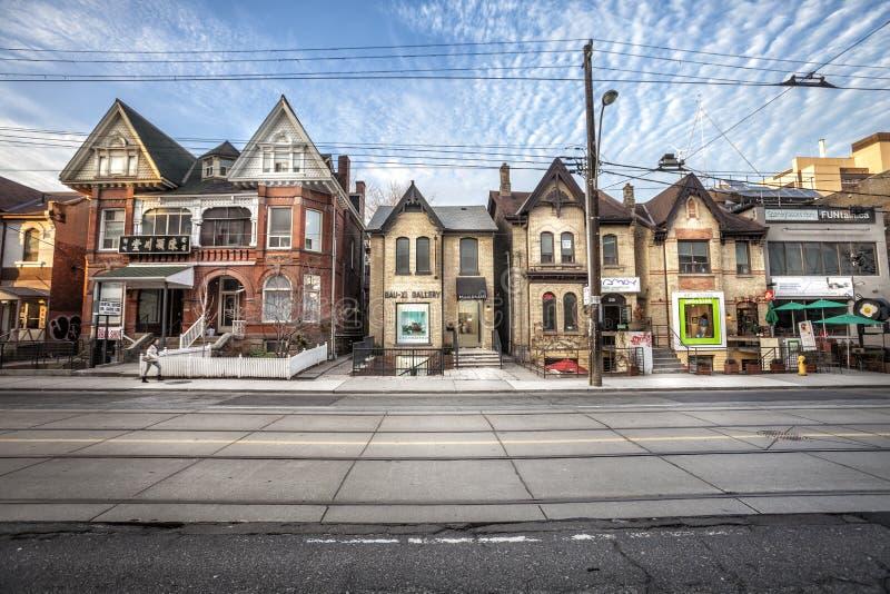 唐人街在多伦多(加拿大) 库存照片