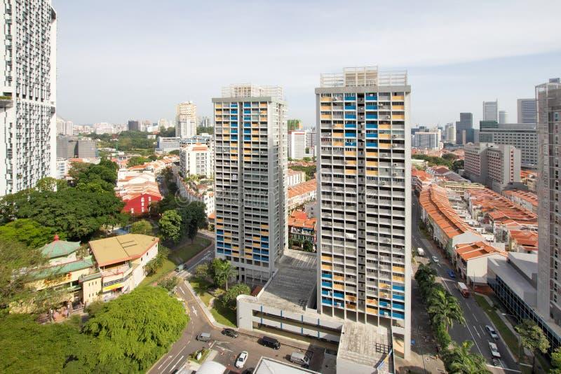 唐人街都市风景新加坡 库存图片