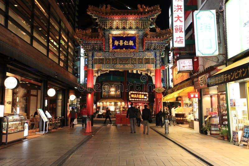 唐人街,横滨,日本 图库摄影