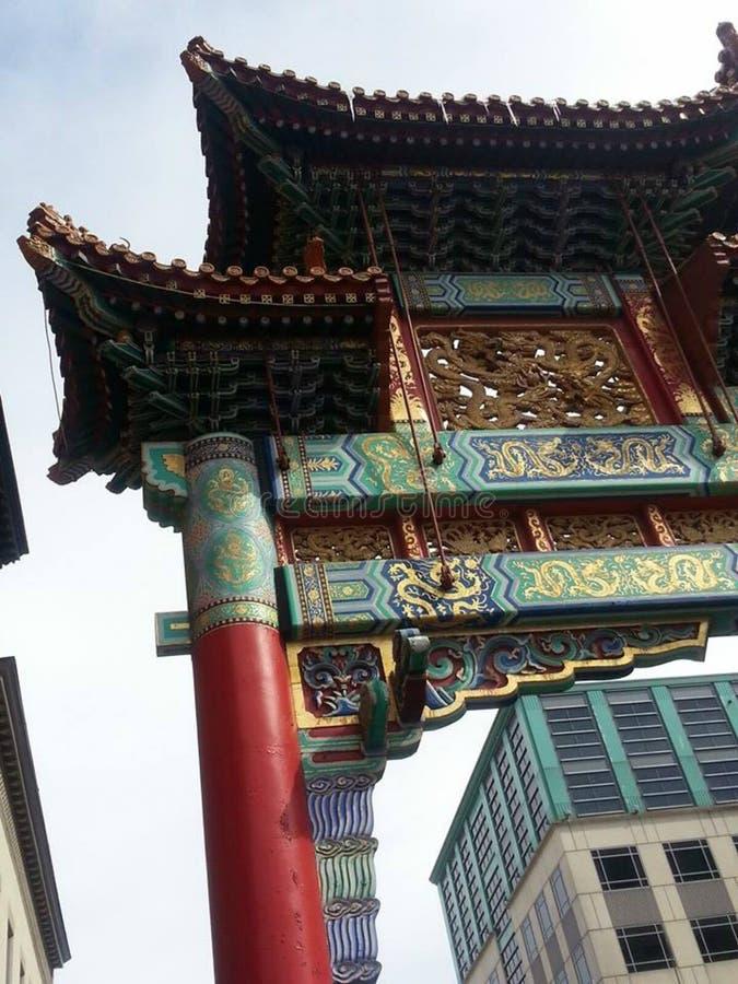 唐人街 库存图片