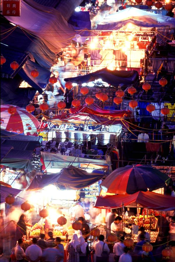 唐人街- Petaling街 免版税库存图片
