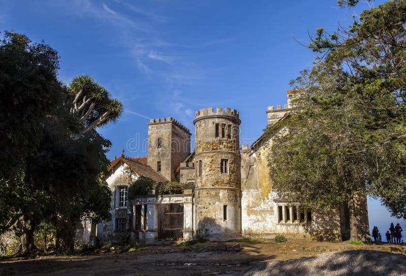 唐基尔城堡,唐基尔,摩洛哥 免版税库存图片