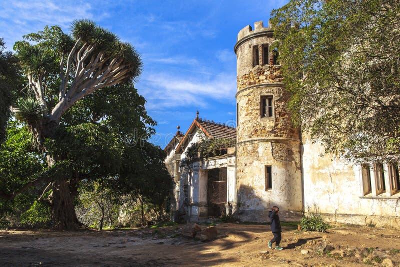 唐基尔城堡,唐基尔,摩洛哥 免版税图库摄影