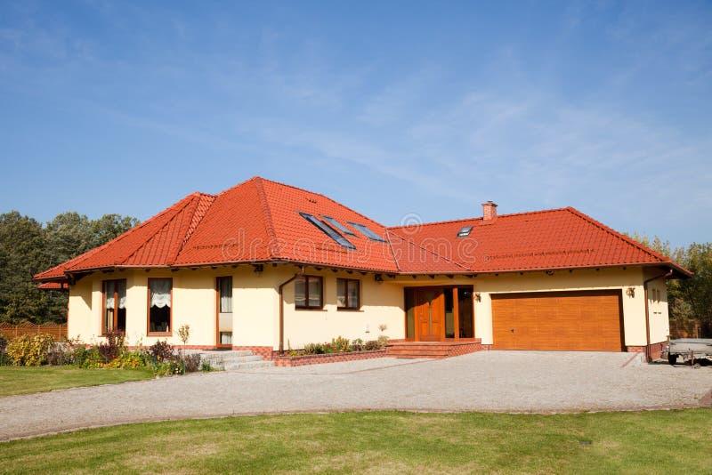 唯一大系列的房子 图库摄影