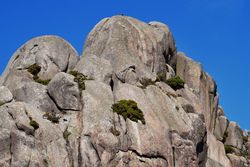 唯一形成的岩石 免版税图库摄影