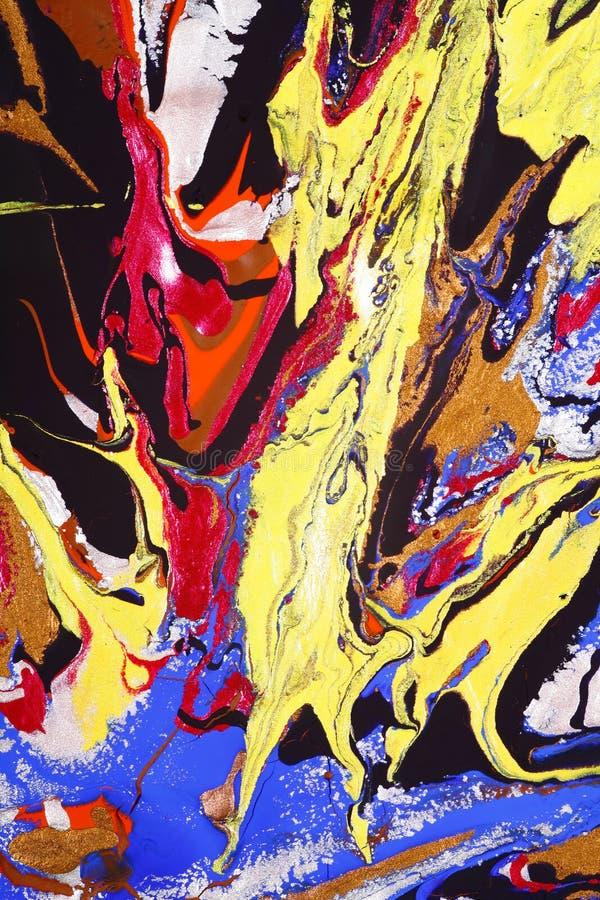唯一抽象派的油漆 库存图片