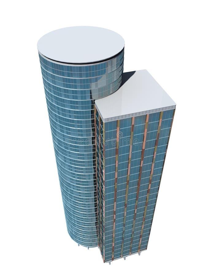 唯一摩天大楼 向量例证