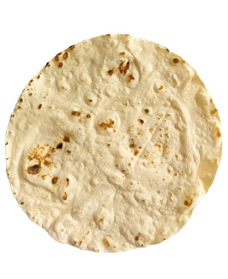 唯一玉米粉薄烙饼 库存图片