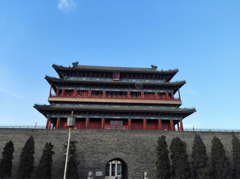 唯一的城市在市北京是更加完全的 免版税库存图片