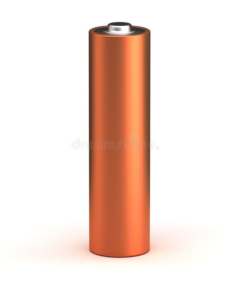 唯一的电池 皇族释放例证