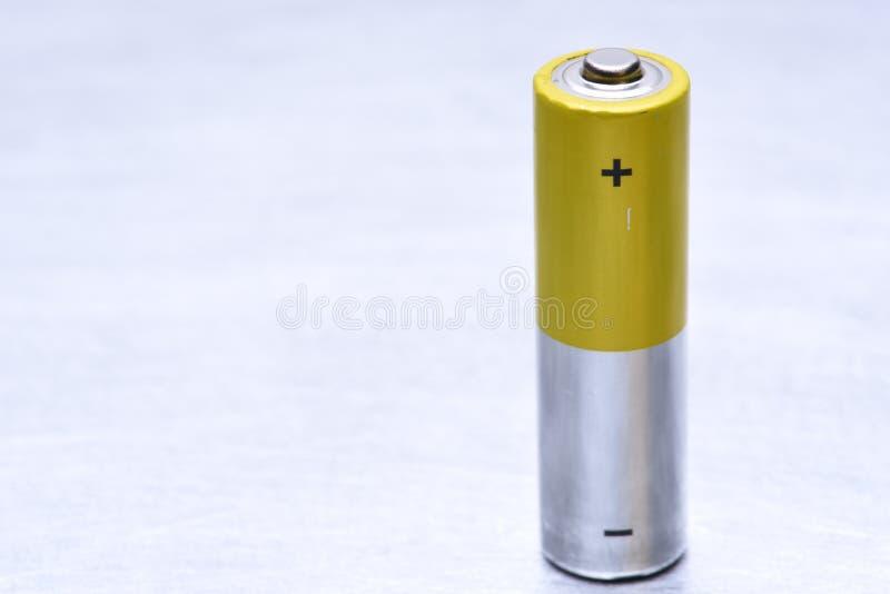唯一老碱性电池 图库摄影