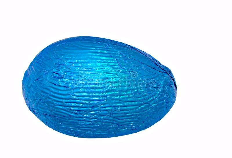 唯一蓝色的复活节彩蛋 图库摄影