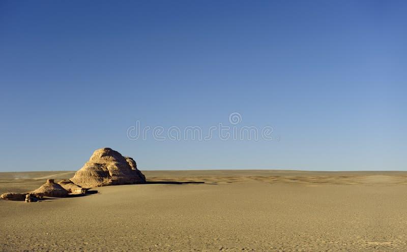 唯一yadan地面在隔壁滩 免版税图库摄影