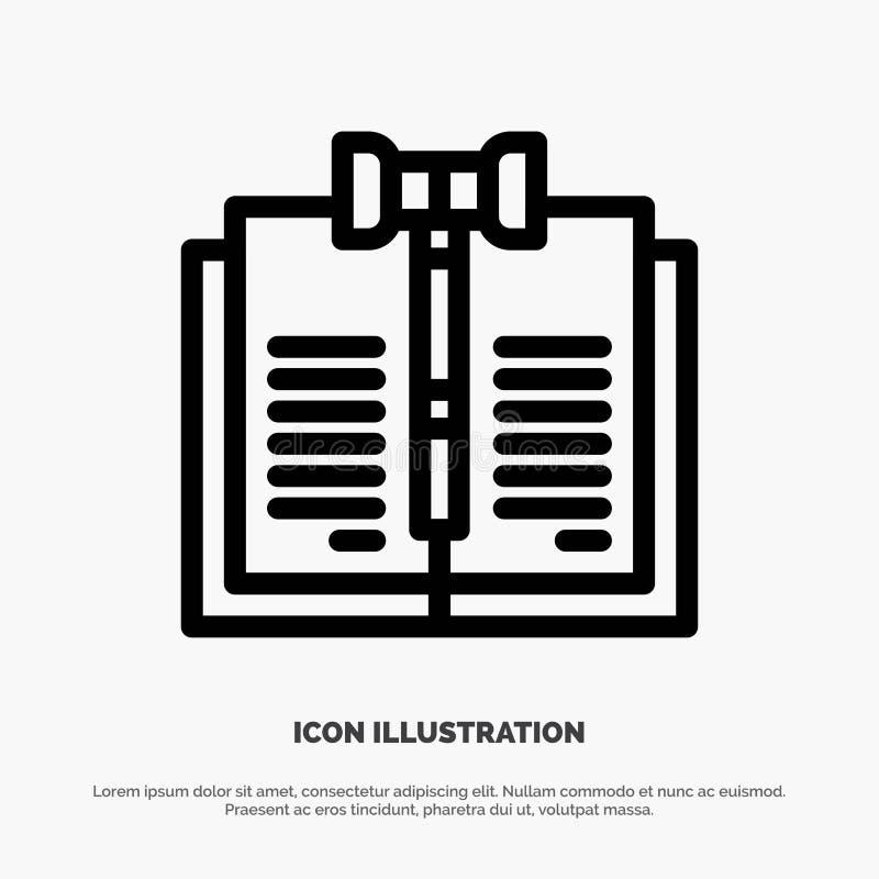 商业、版权、数字、法律、记录行图标矢量 向量例证