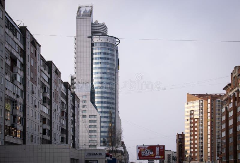 商业中心`第一塔` 库存照片