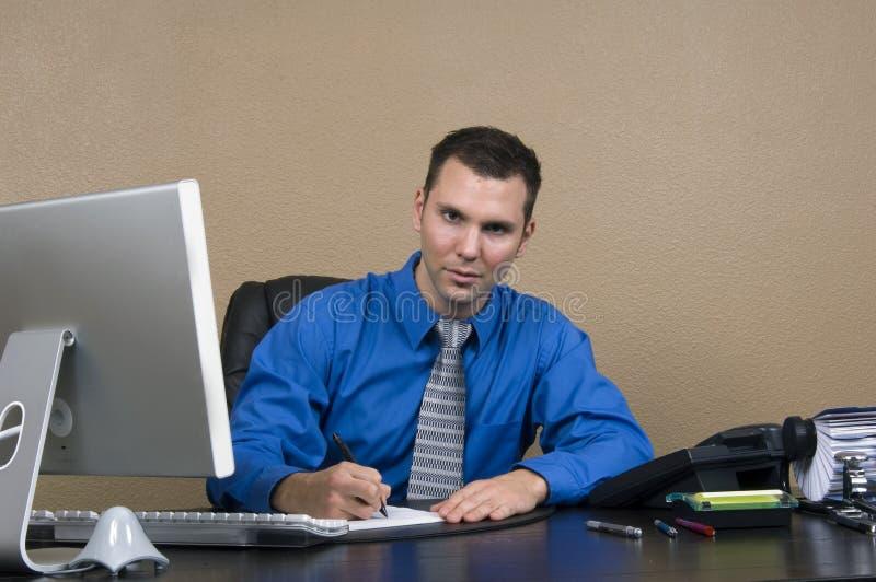 商业他的人办公室 库存照片