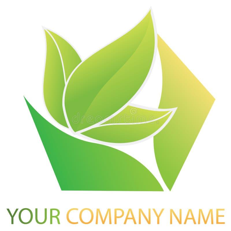 商业公司徽标 向量例证