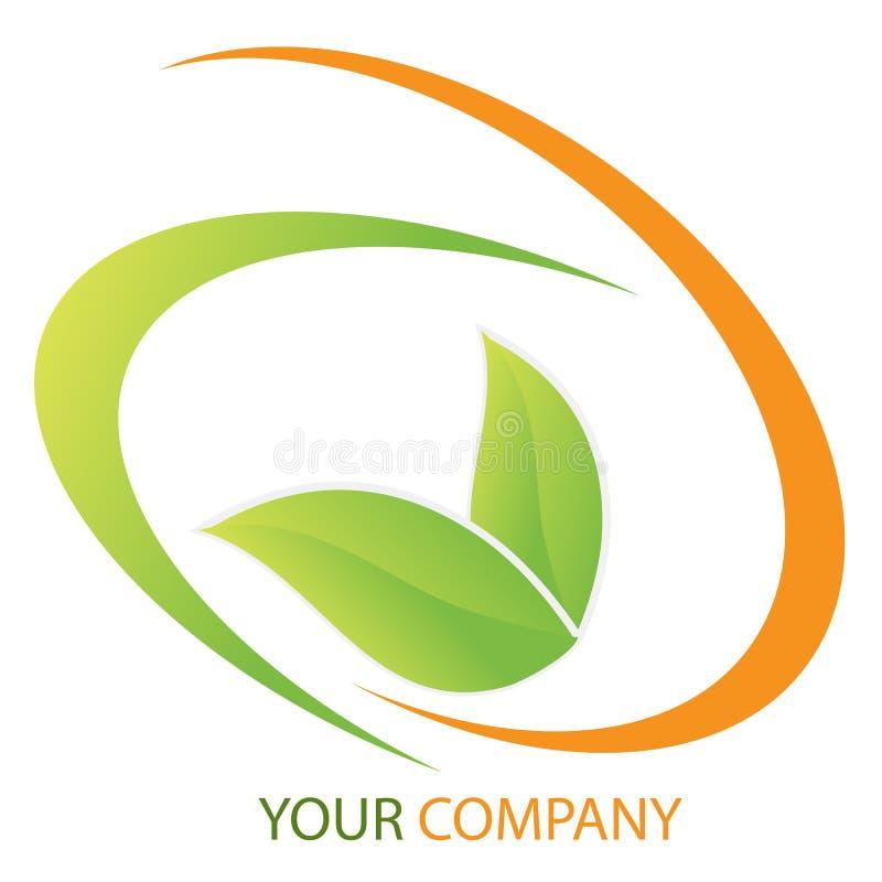 商业公司投资徽标 向量例证