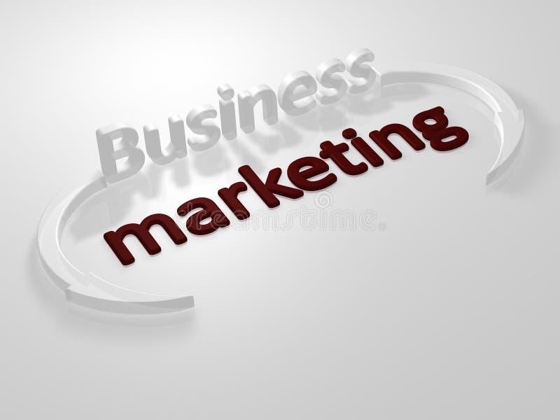 商业函件销售 库存例证