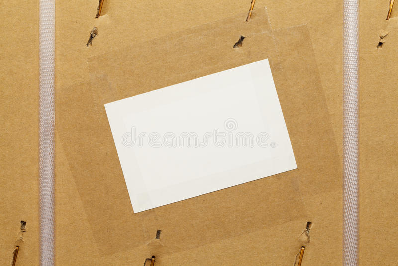 商业包裹 库存图片