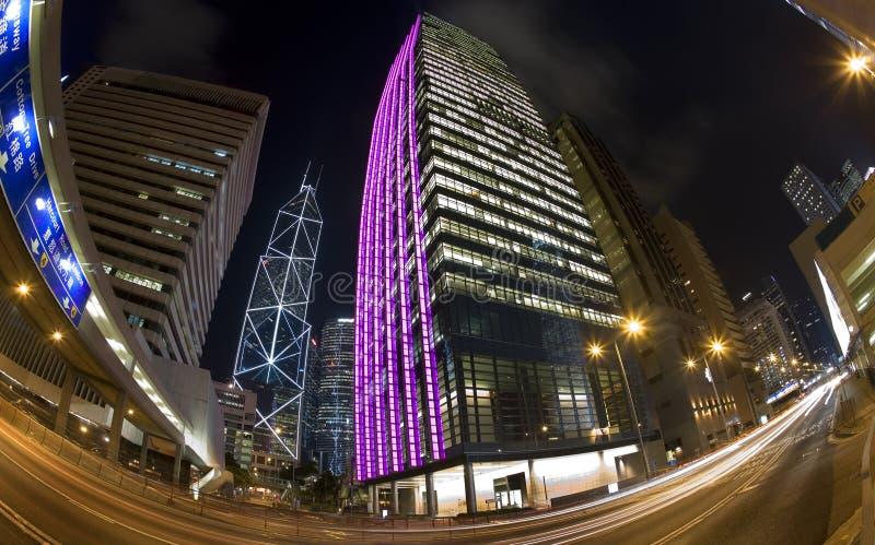 商业区香港 免版税库存图片