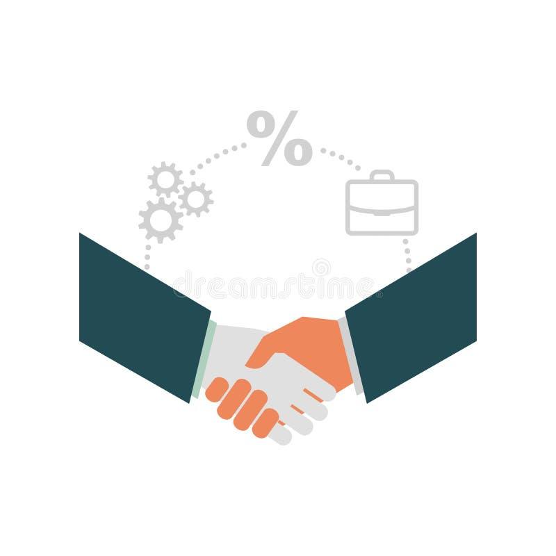 商业和财务 库存例证