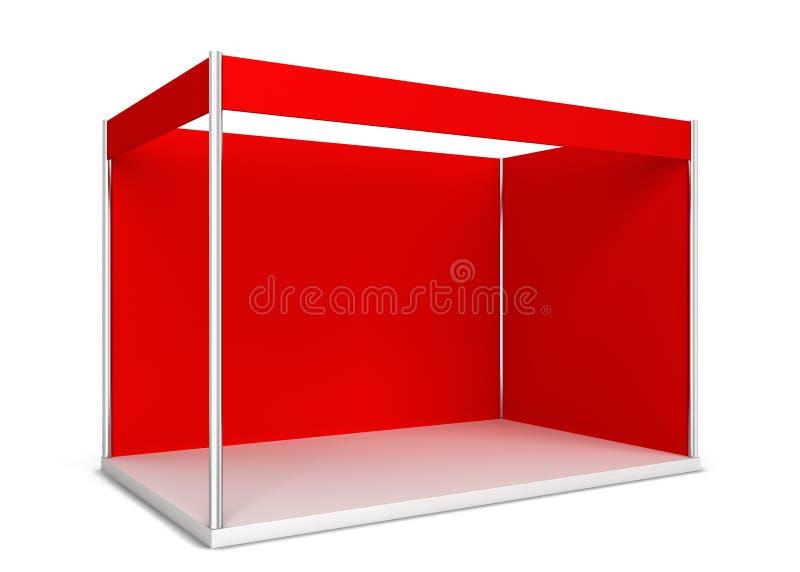 商业展览摊 皇族释放例证