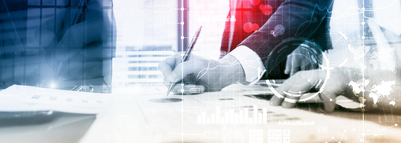 商业情报双主要绩效显示KPI分析仪表板透明被弄脏的背景 库存照片