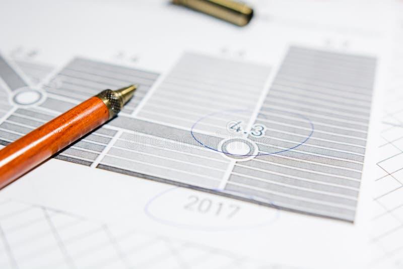 商业文件 免版税图库摄影