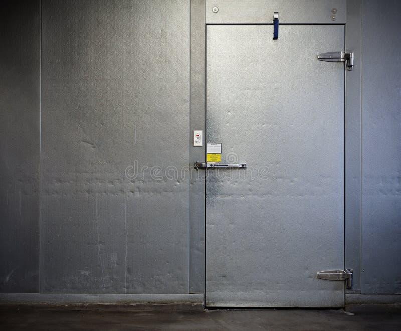 商业未经预约而来的冷冻机 免版税库存照片