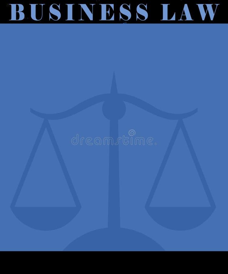 商业法海报 向量例证