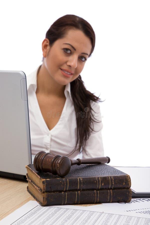 商业法 免版税库存图片