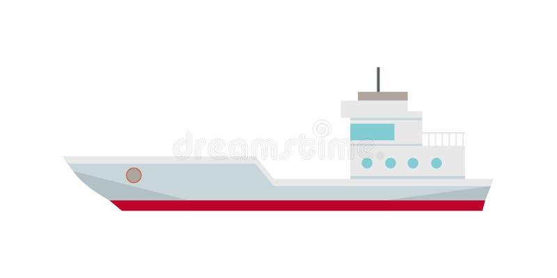 商业集装箱船 皇族释放例证