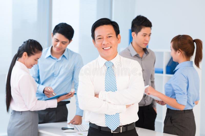 商业领袖 免版税库存图片