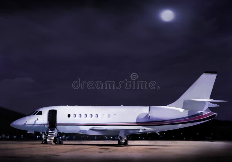 商业飞机 免版税库存图片