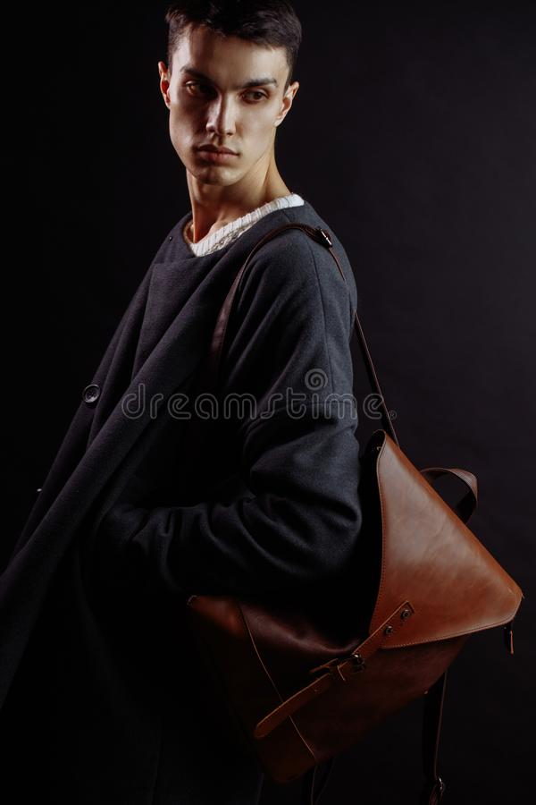 商人偶然成套装备生活方式,供以人员时尚和秀丽概念 免版税库存照片