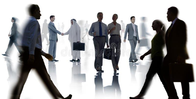 商人同事配合会议研讨会会议 库存例证