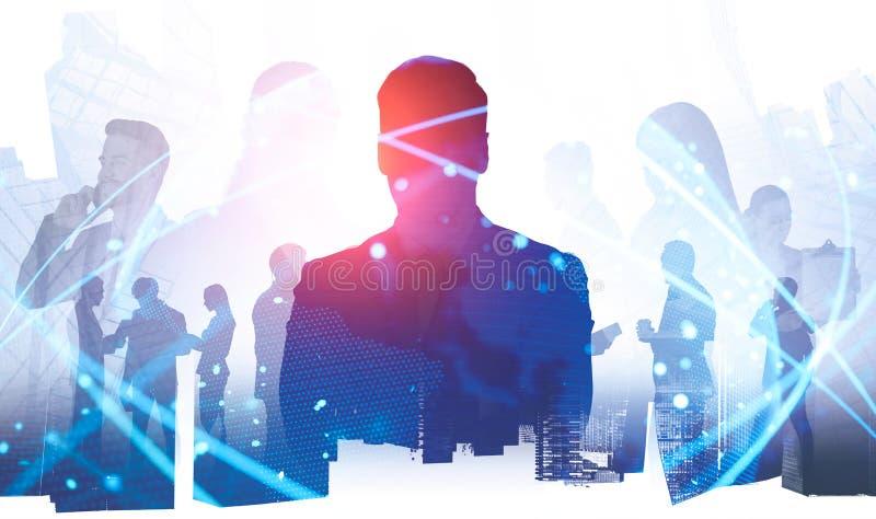 商人国际合作概念 免版税库存图片