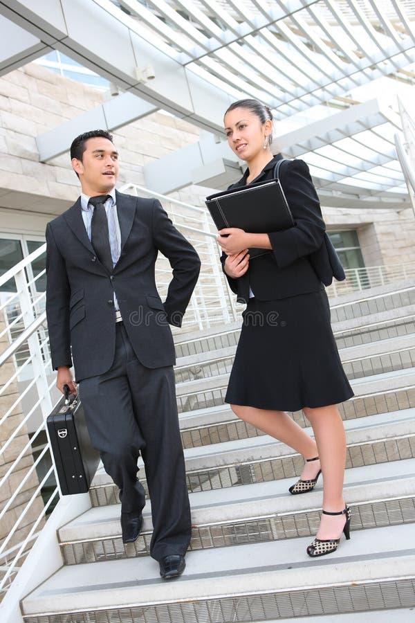 商人小组妇女 免版税库存图片